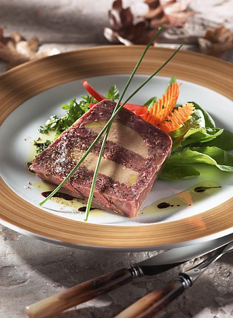 Queue de boeuf marbrée au foie gras - Beauvallet : La..