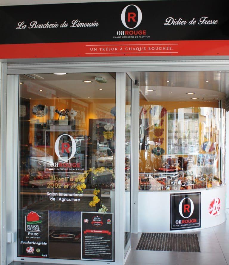 La primera carnicería OR ROUGE: La boucherie du Limousin (91)