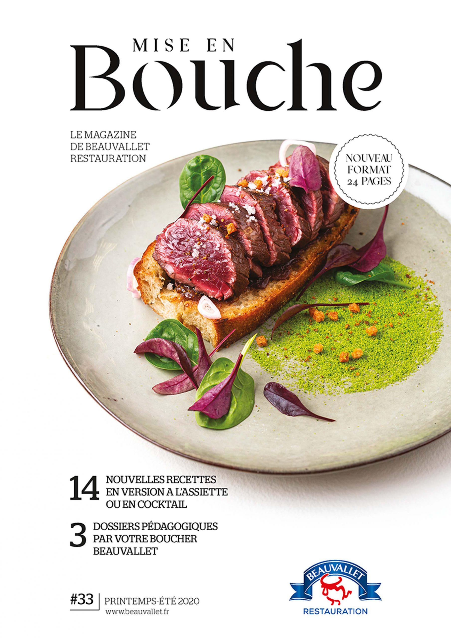 New Beauvallet's magazine : Mise en Bouche 2020