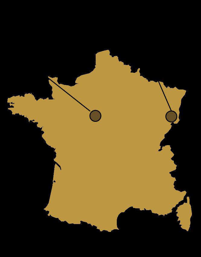 Beauvallet - Les sites des activités Elaborés et Cuisinés